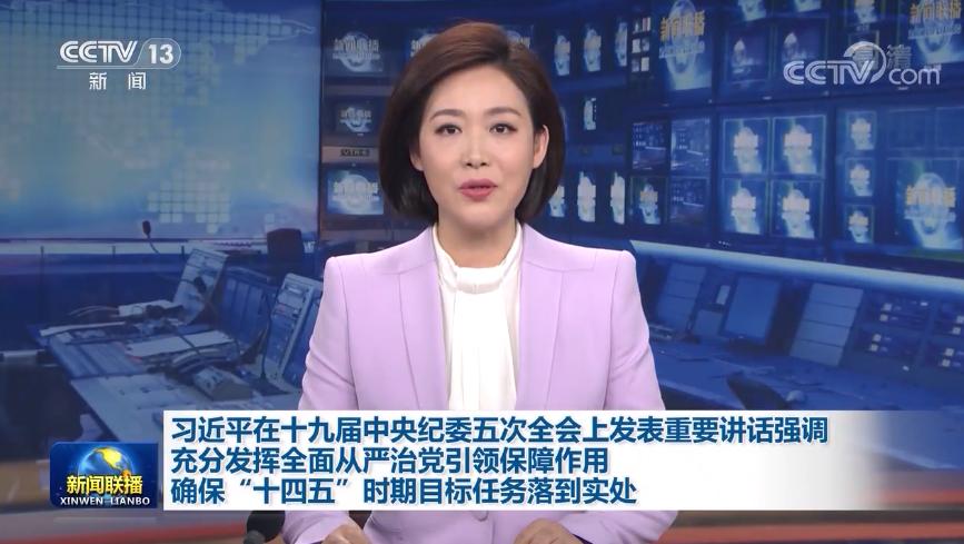习近平在十九届中央纪委五次全会上发表重要讲话强调
